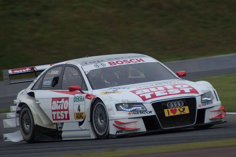 DTM-Oschersleben: Mattias Ekström ist der Regenkönig