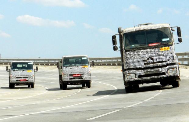 Daimler will 2013 eine halbe Millionen Lkw absetzen