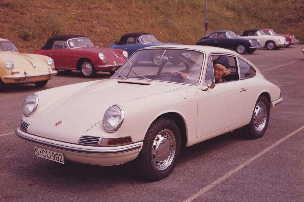 Der  911 ist bis heute eine Sportwagenikone