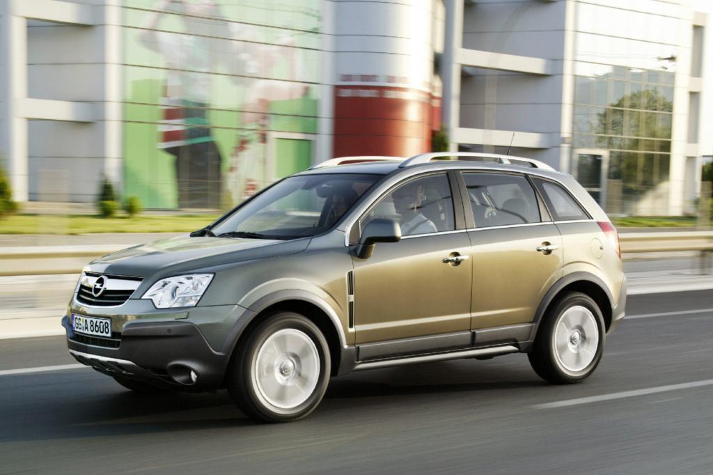Der Antara ist nicht gerade Opels größter Wurf