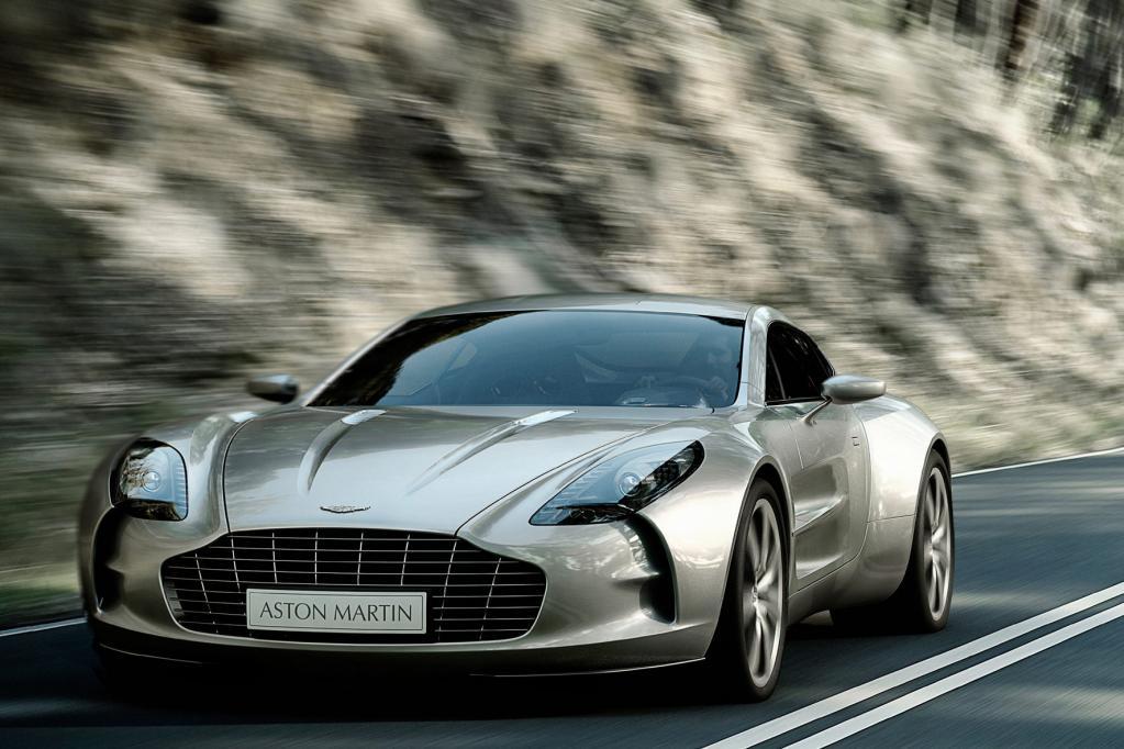 Der Aston Martin One-77 ist schnell, für die Spitze reicht es mit 3,7 Sekunden aber nicht.