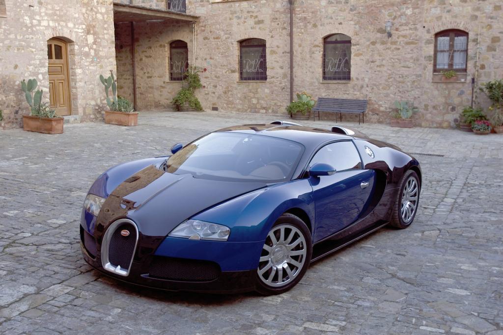 Der Bugatti Veyron 16.4 ist der schnellste der schnellen Supersportwagen. Er braucht nur 2,5 Sekunden bis 100 km/h.