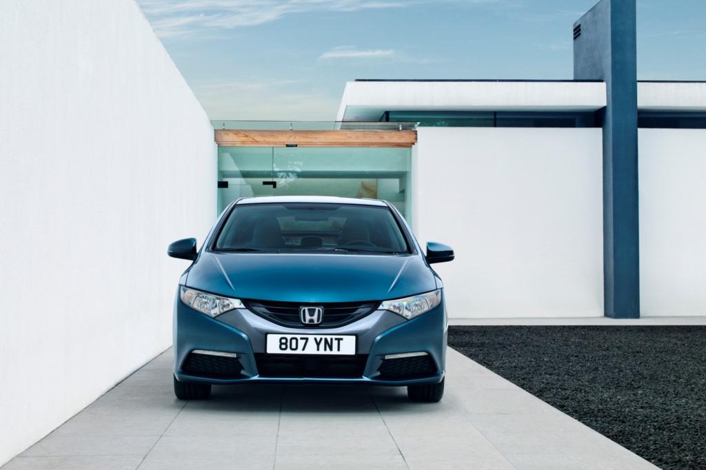 Der Honda Civic rollt in neunter Generation vor