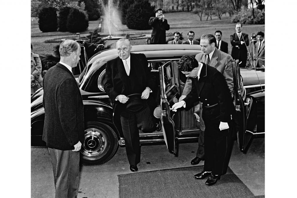 Der Mercedes 300 wurde als Adenauers Dienstwagen berühmt