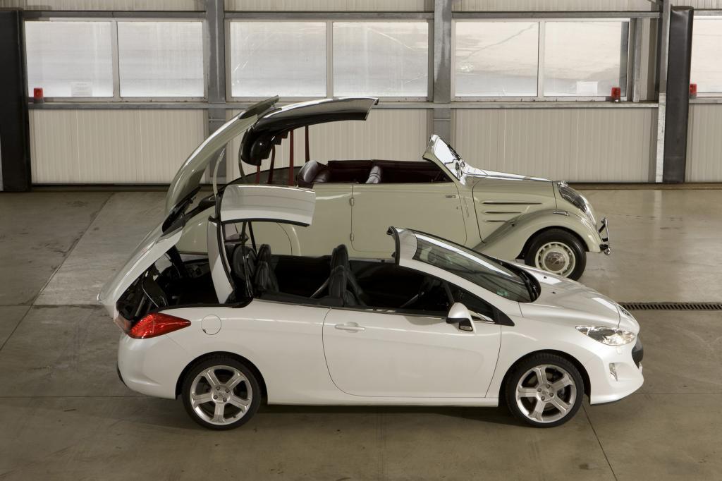 Der Peugeot Eclipse und sein Nachfolger 308 CC
