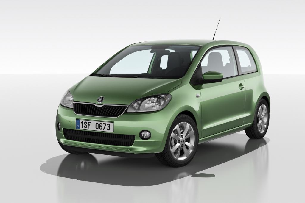 Der Skoda Citigo basiert auf dem VW Up, trägt aber ein eigenständiges Gesicht