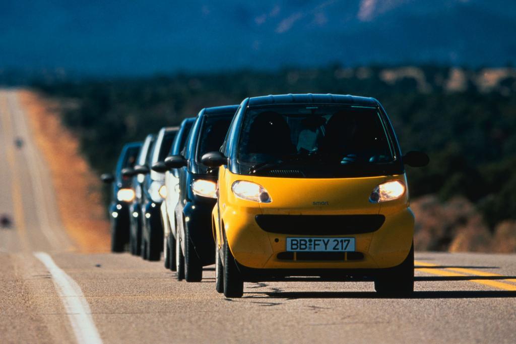 Der Smart war für Daimler ein großes Wagnis