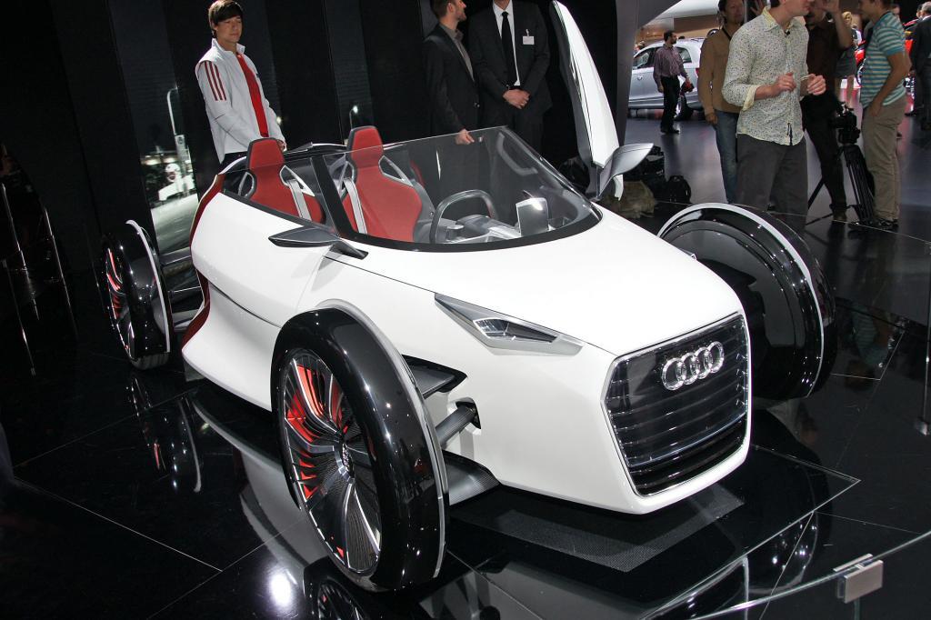 Der Urban Concept von Audi gefällt nicht nur durch sein Design