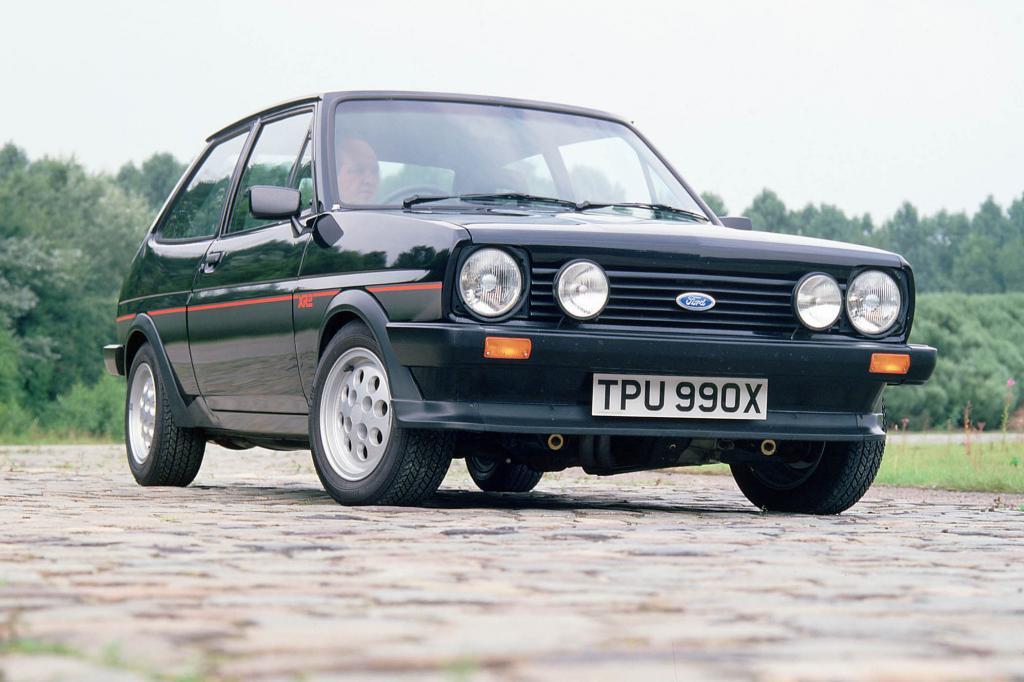 Der erste sportliche Fiesta hörte auf den Namen XR2, das war 1981