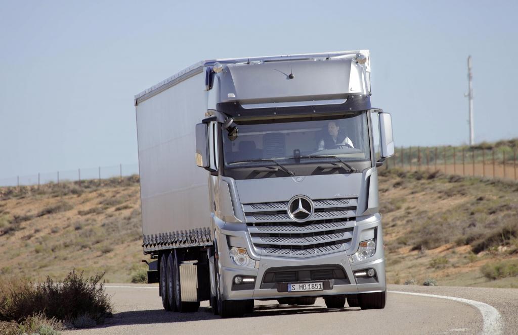 Der neue Mercedes Actros: Erfahrbarer Fortschritt
