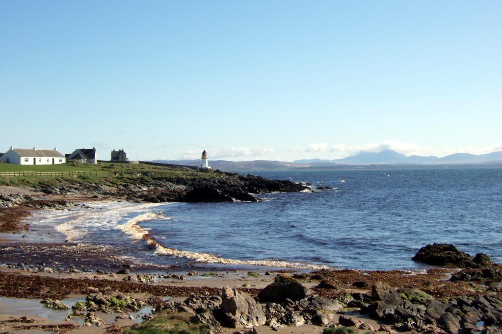 Der perfekte Ort für emissionsfreie Autos: Port Charlotte auf der Hebriden-Insel Islay.