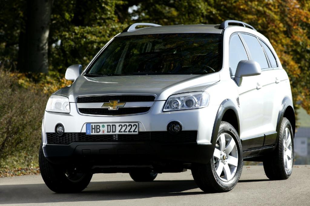 Der weitgehend identische Chevrolet Captiva ist billiger zu haben