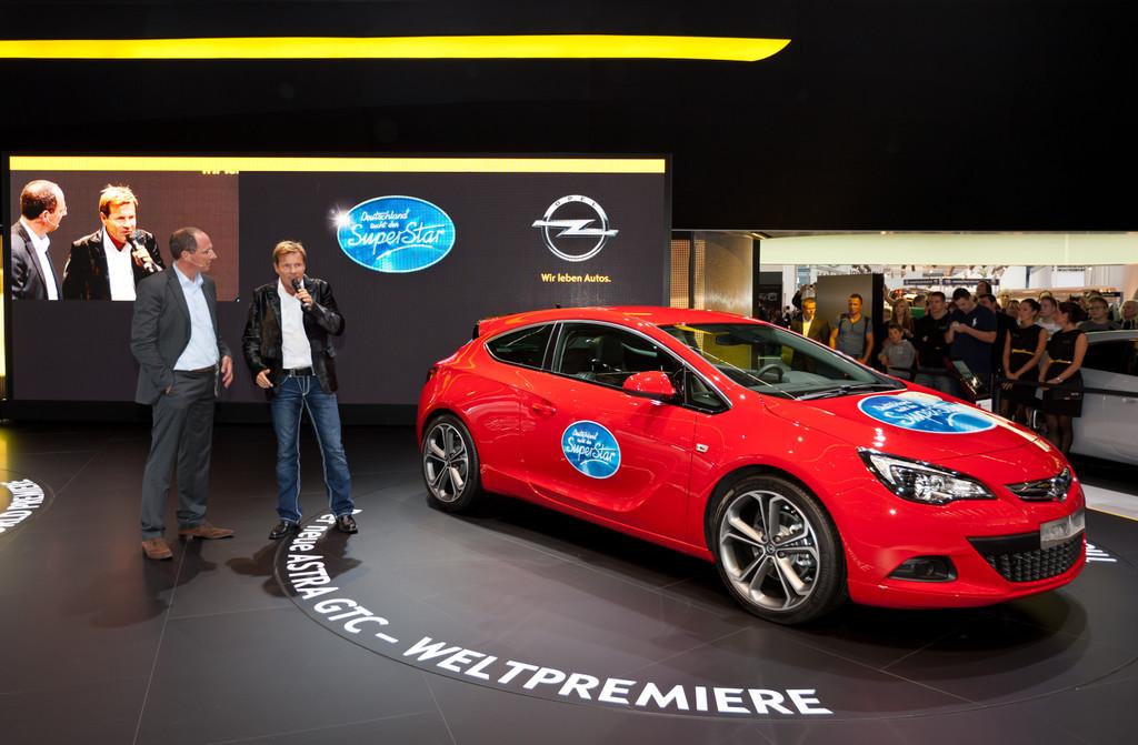 Deutschland sucht mit Opel den Superstar