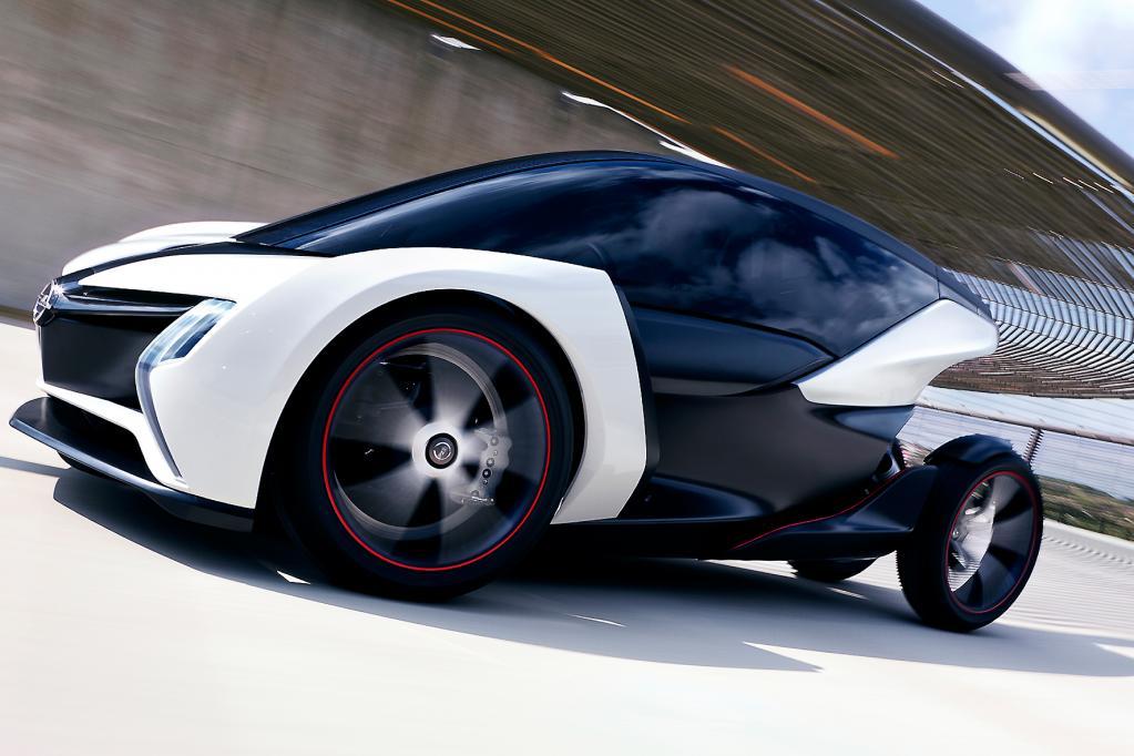 Die Elektro-Zweisitzer-Studie von Opel sieht nicht nur futuristisch aus. Ihr könnte auch schon bald als Serienfahrzeug die Zukunft gehören.