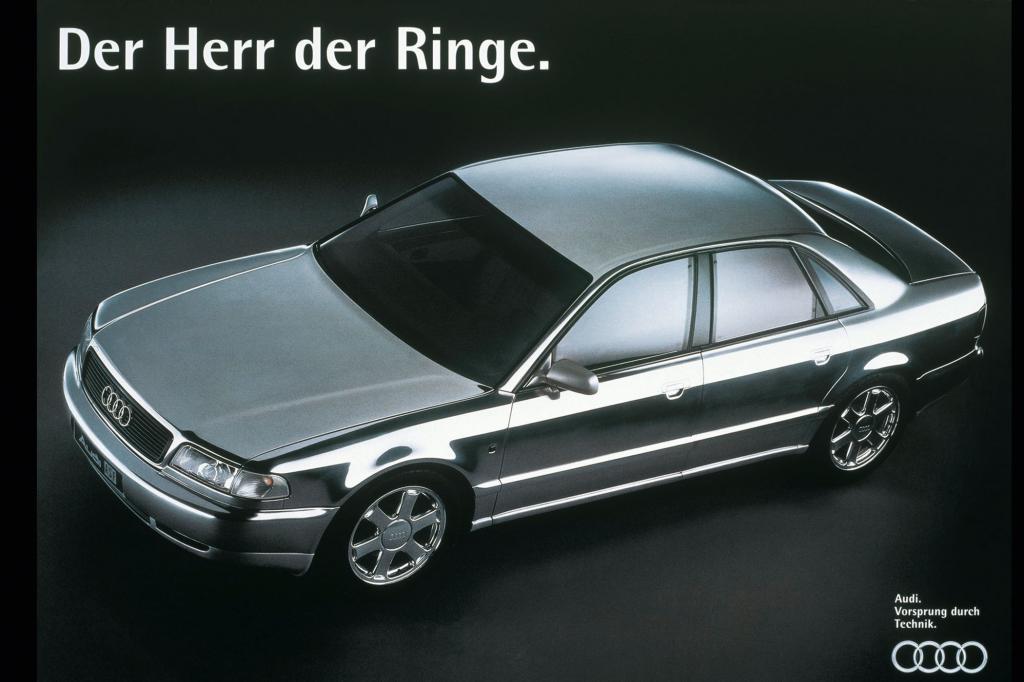 Die Top-Ten startet mit der Audi-Studie ASF, dem Vorläufer des A8