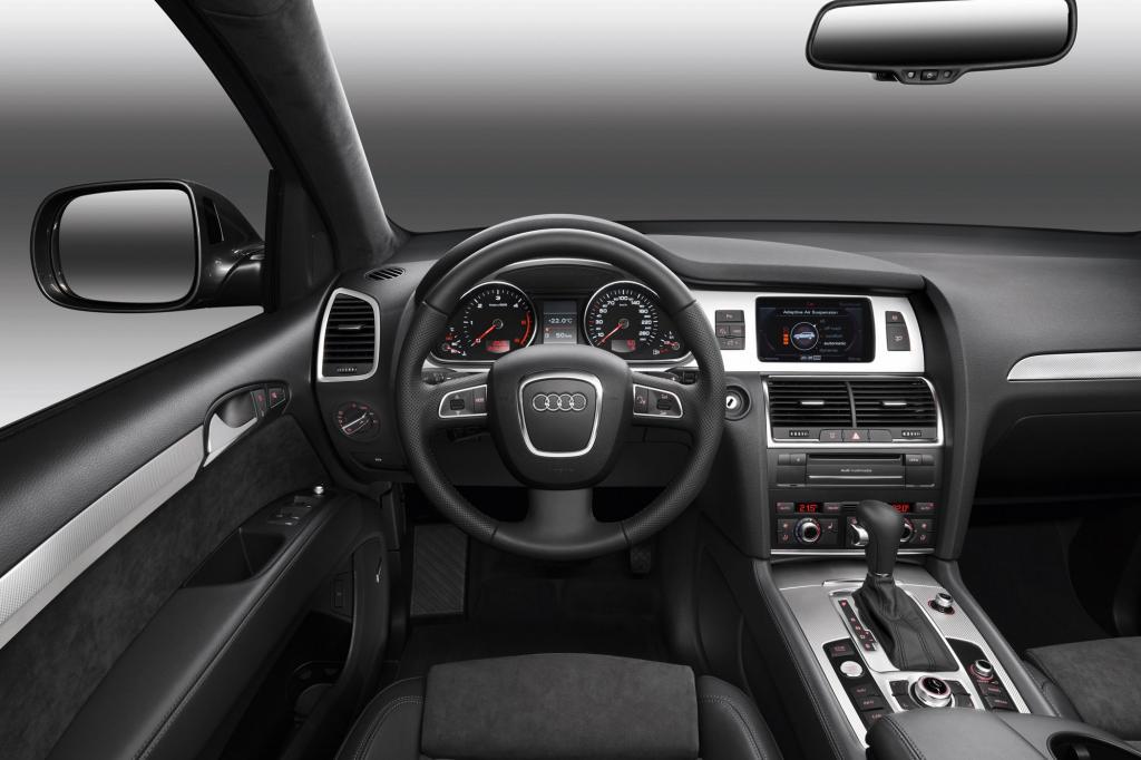 Die Verarbeitungsqualität ist Audi-üblich hoch