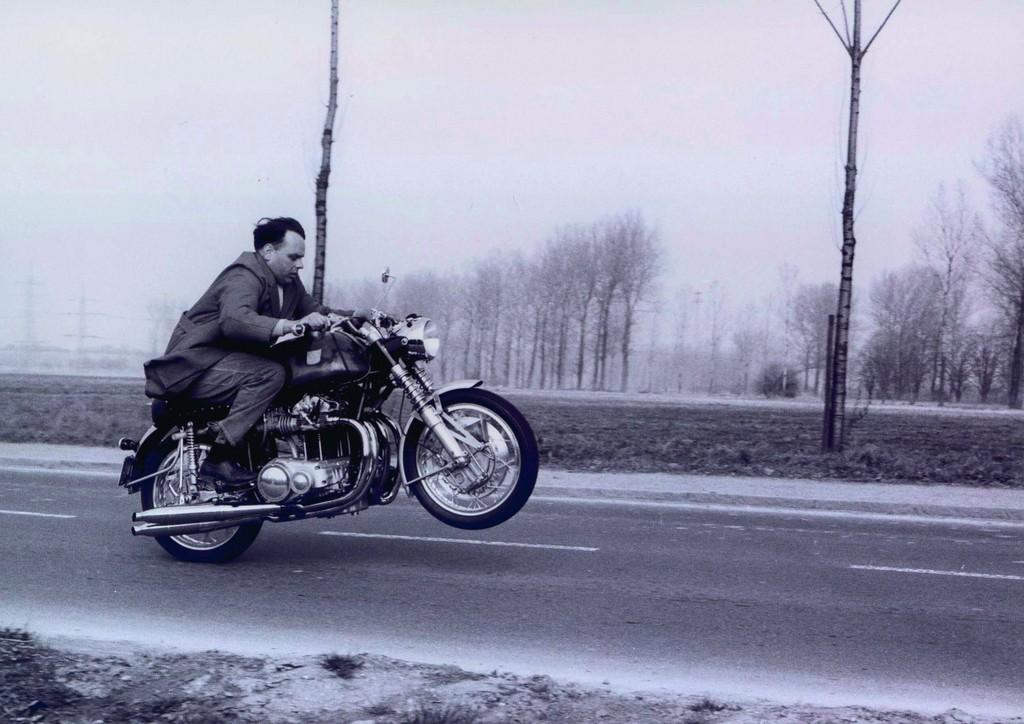 Die legendäre Münch Mammut bot 1966 mit ihrem 1,2-Liter-Vierzylinder so viel Leistung wie kaum ein anderes Motorrad.
