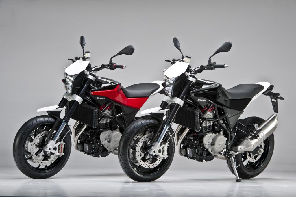 Die neue Maschine ist eine Mischung zwischen Naked-Bike und Supermoto