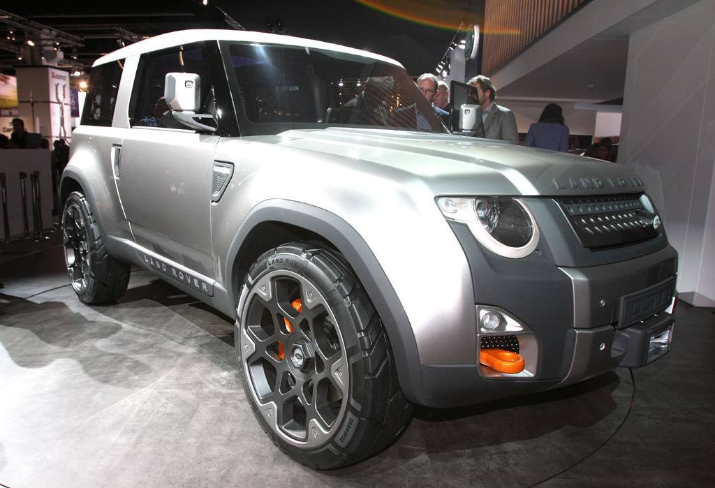 Dieses Konzeptauto könnte einen Ausblick auf den nächsten Land Rover Defender geben.