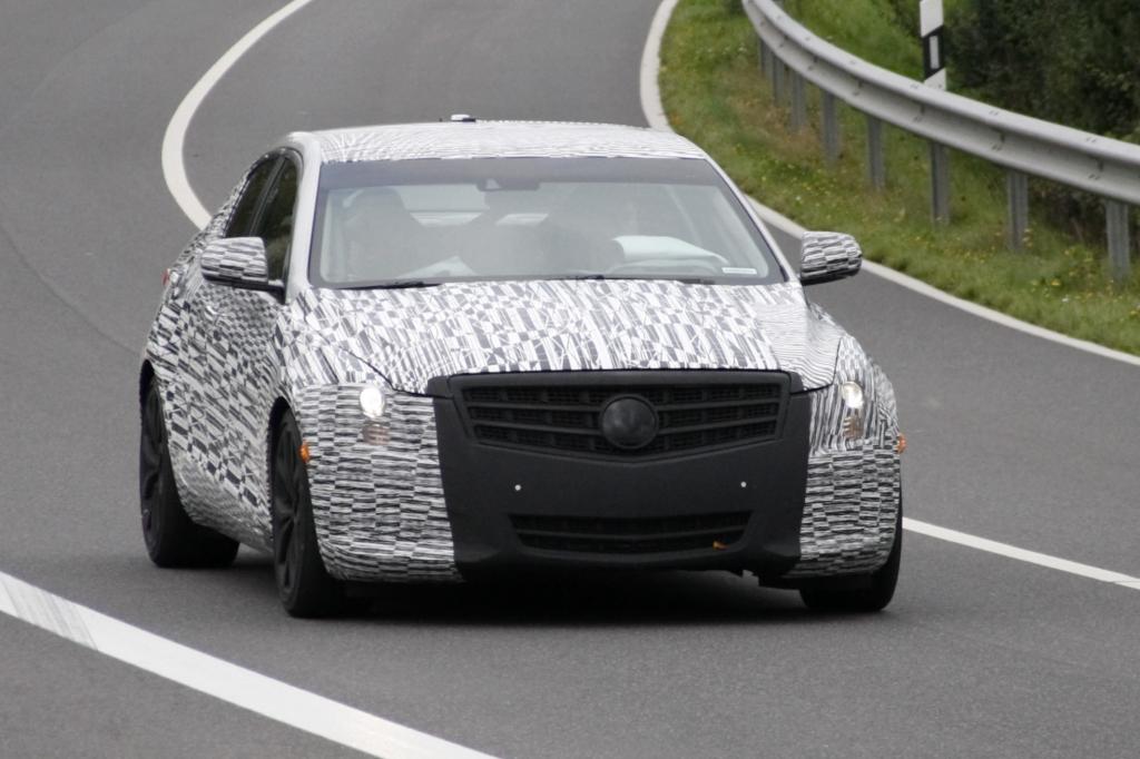 Erwischt: Erlkönig Cadillac ATS