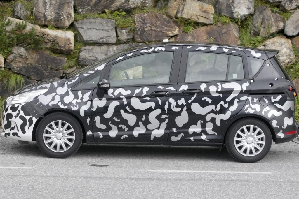 Erwischt: Erlkönig Ford B-Max – Minivan kommt 2012