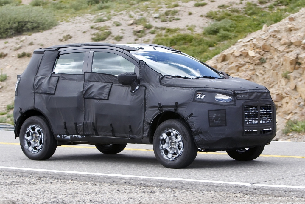Erwischt: Erlkönig Ford Fiesta SUV – Offroad-Feeling im Kleinwagensegment