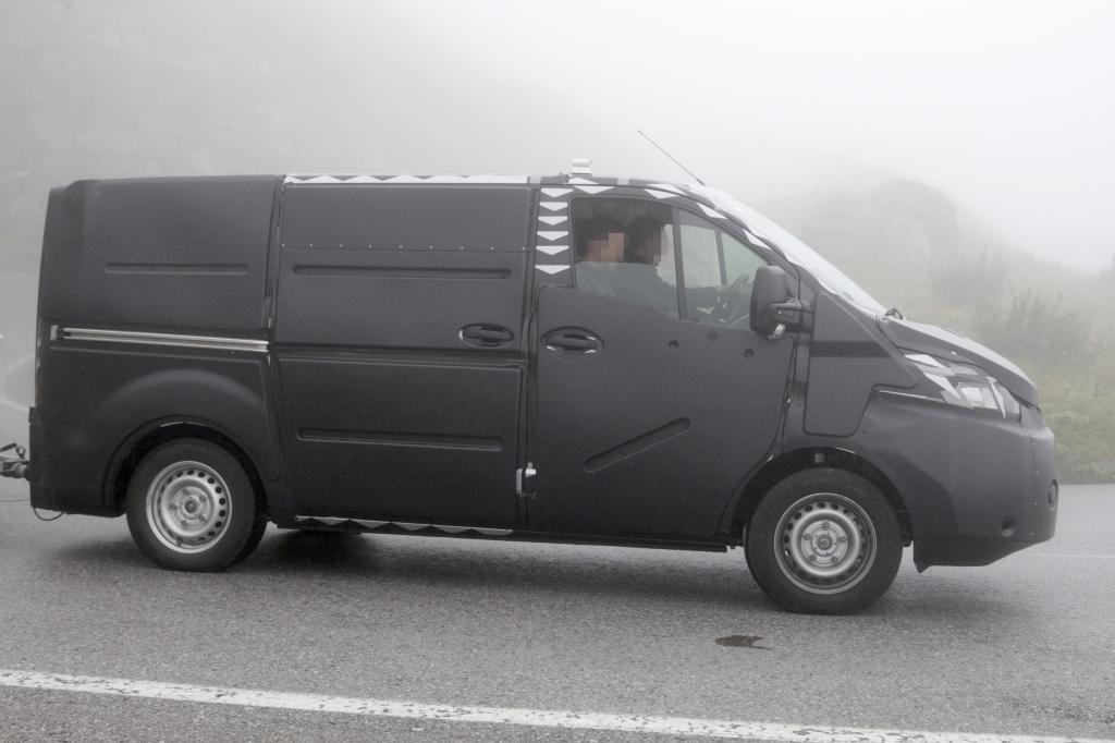 Erwischt: Erlkönig Ford Transit - Nutzfahrzeug von Welt