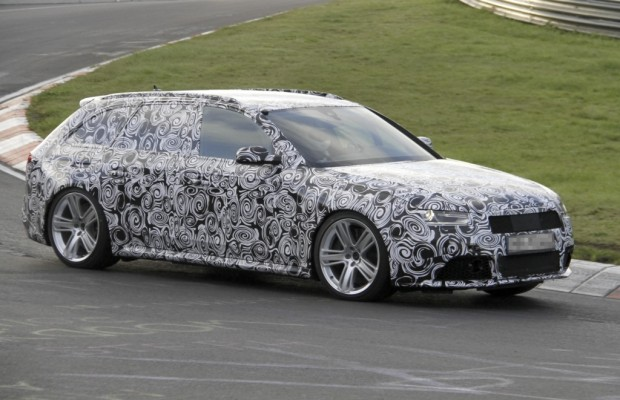 Erwischt. Erlkönig Audi RS 4 Avant – Wenn's mal wieder schnell gehen muss