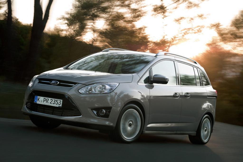 Für den Ford Grand C-Max kann auf Wunsch eine dritte Sitzreihe bestellt werden.