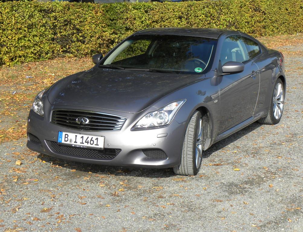 Fahrbericht Infiniti G37S Coupe: Kraft lockt