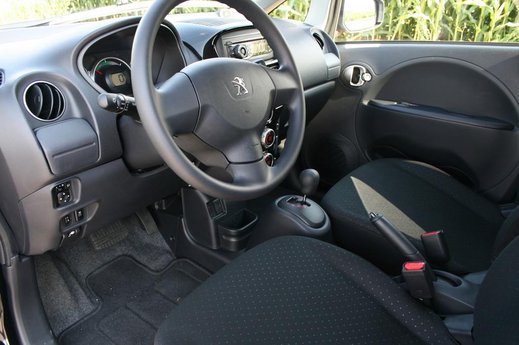 Fahrbericht Peugeot Ion: Denken in Balken