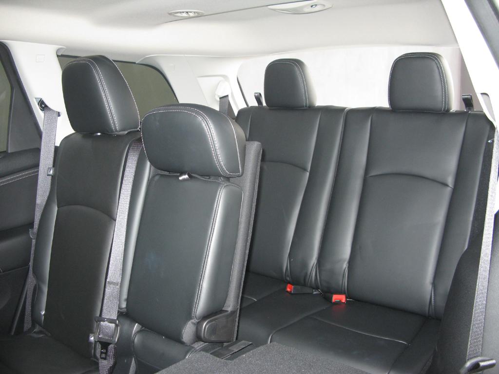 Fiat Freemont: Blick auf die Sitzreihen zwei und drei.