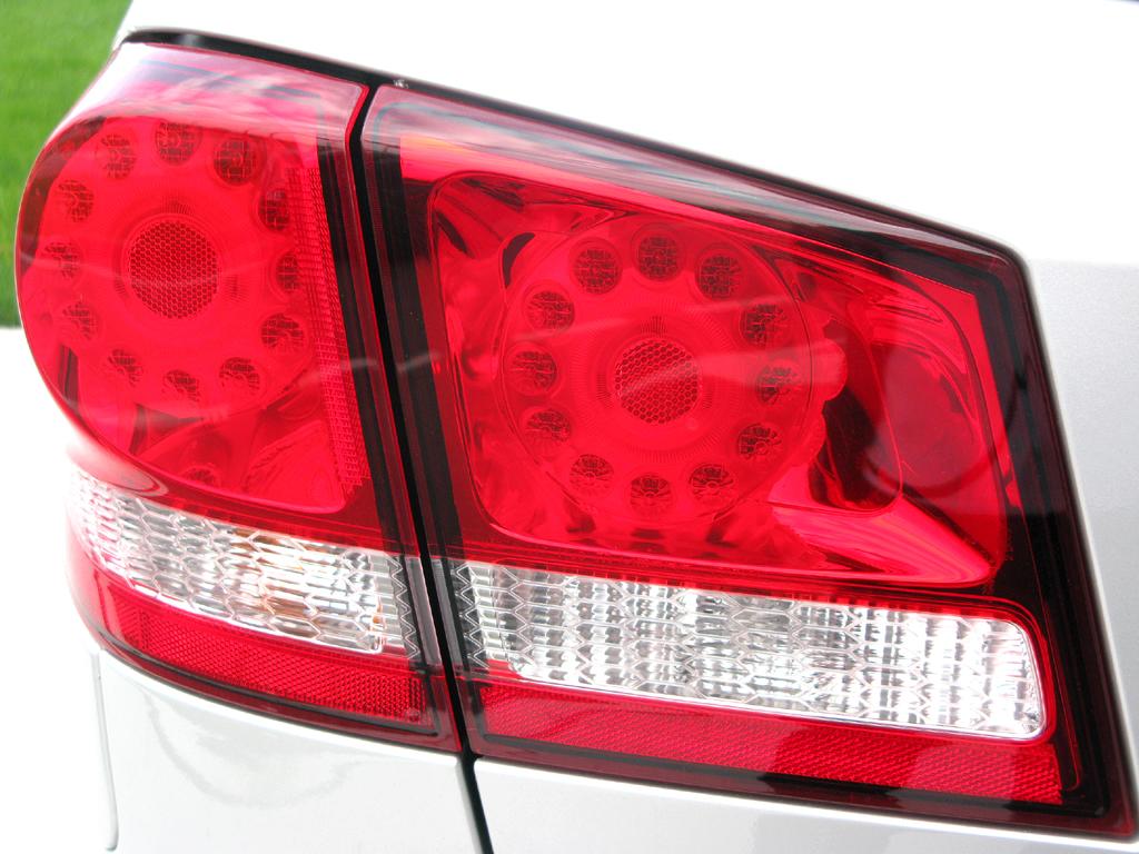 Fiat Freemont: Moderne Leuchteinheit hinten.