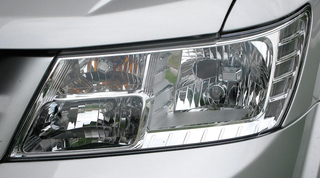 Fiat Freemont: Moderne Leuchteinheit vorn.