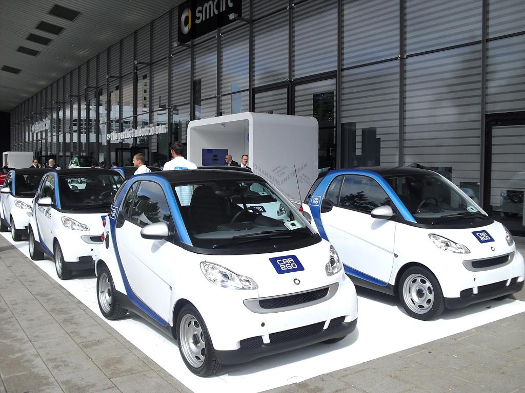Flexiblen Mobilitätskonzepten wie Smarts