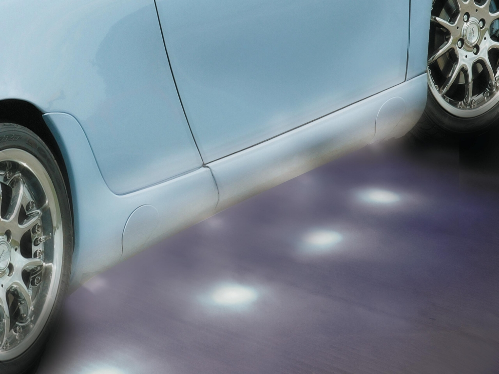 Foliatec Türeinstiegsbeleuchtung mit SMD-LED Spotlights