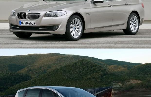 Ford S-Max schlägt sich wacker gegen 5er BMW