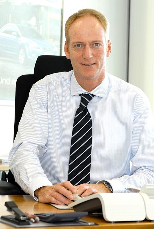 Ford-Verkaufsdirektor Wolfgang Kopplin.