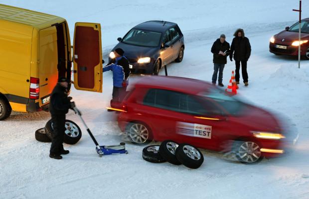 GTÜ testet Winterreifen
