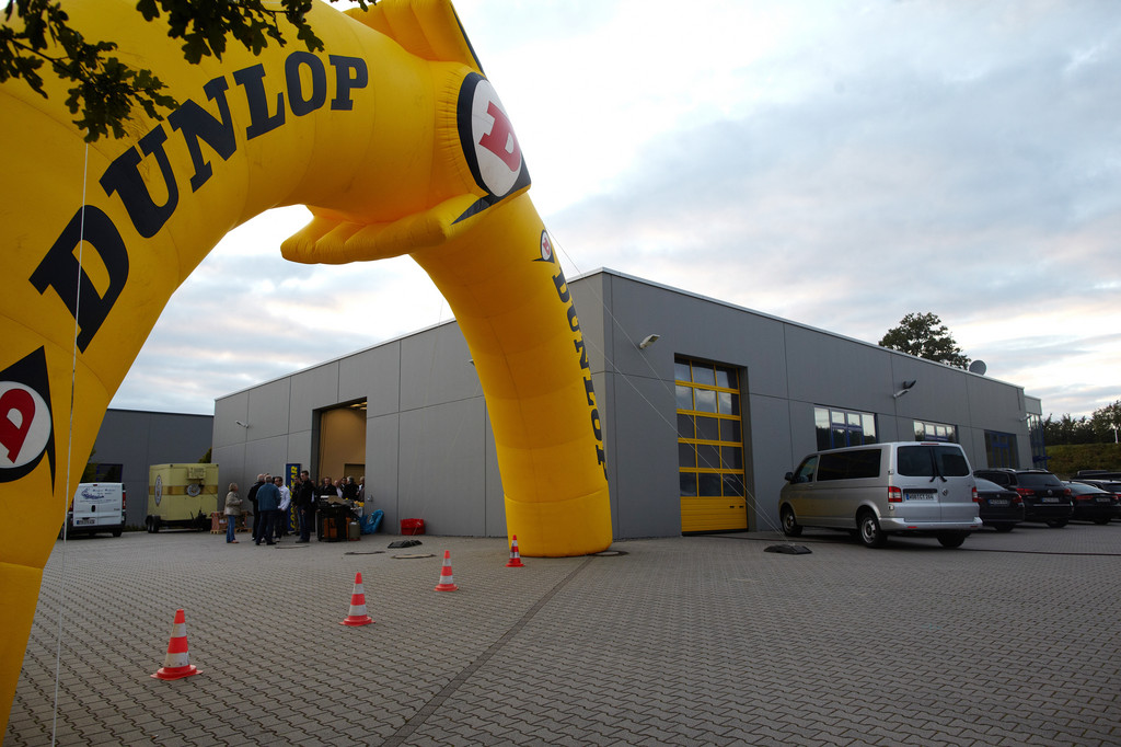 Goodyear Dunlop eröffnet neues Testzentrum