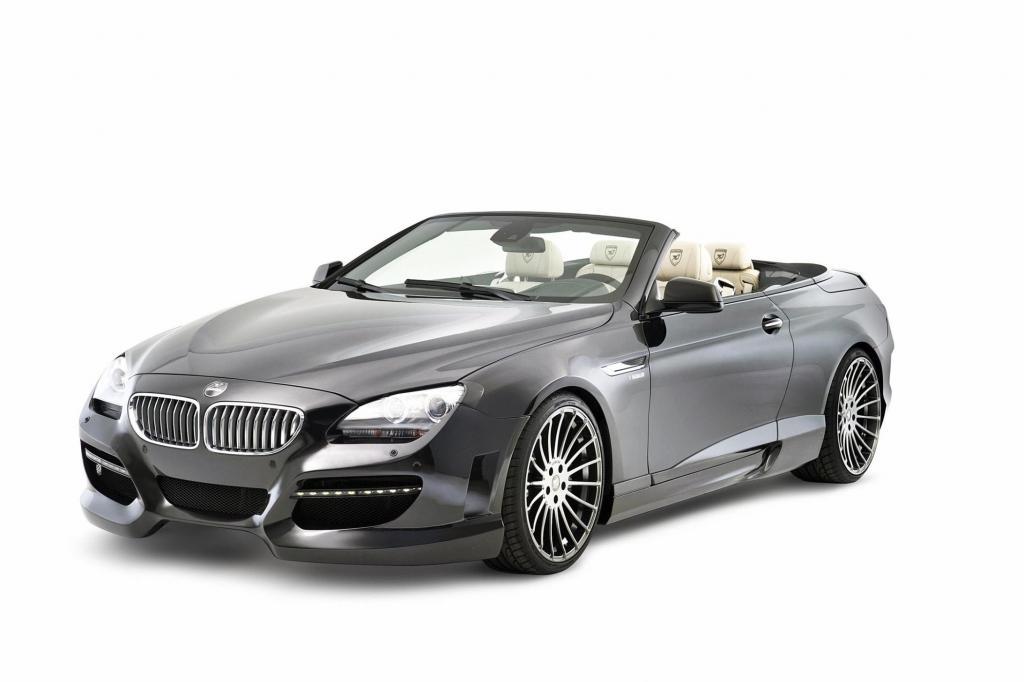 Hamann nimmt sich das BMW 6er Cabrio vor