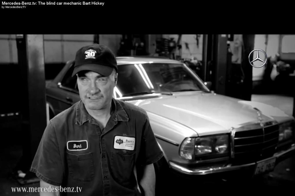 Handwerk: Wie ein blinder Mechaniker Autos repariert