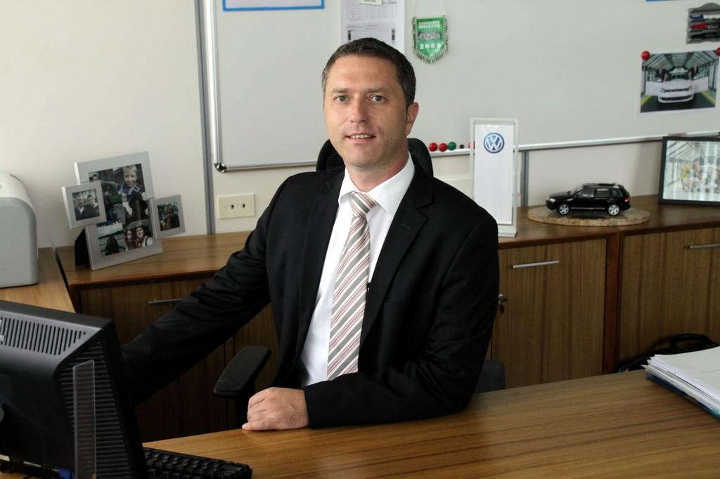 Holger Nestler, VW-Werkleiter in Pune.