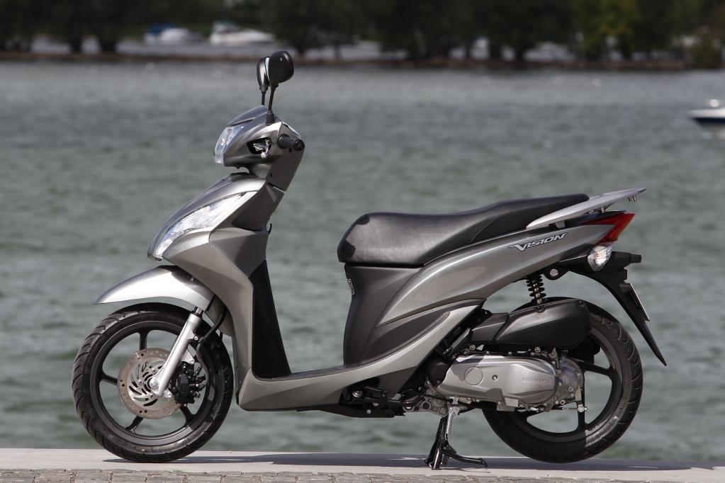 Honda Vision 110: Fernöstliche Visionen