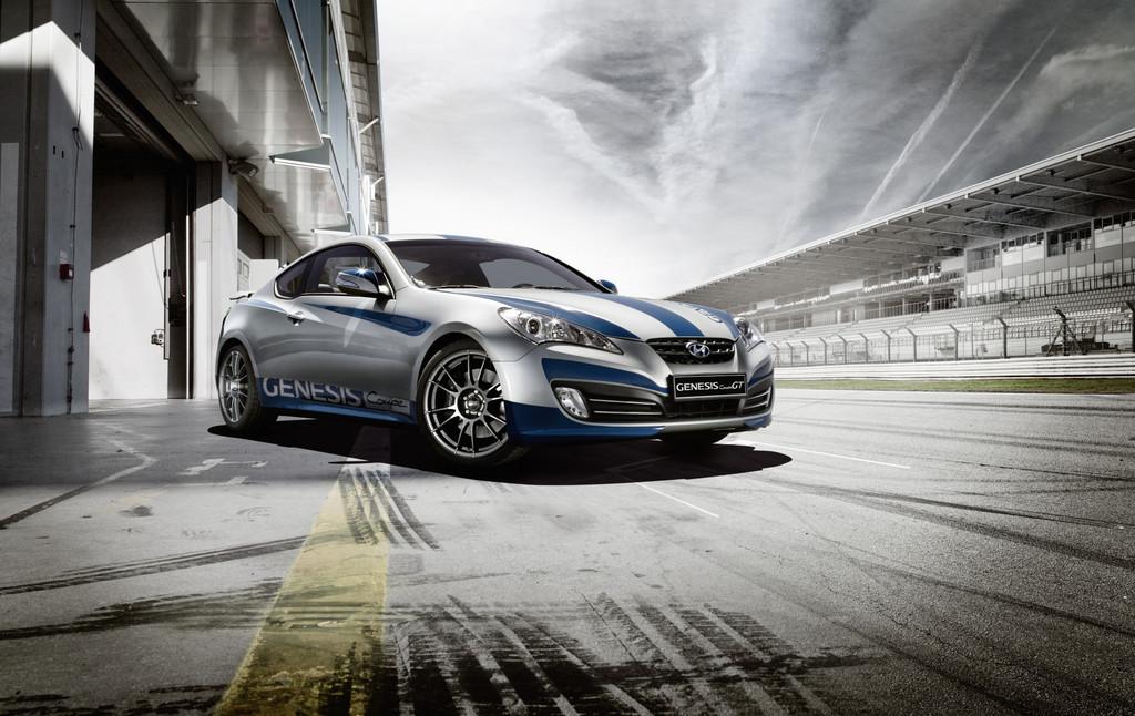 Hyundai Genesis Coupé als Sondermodell GT