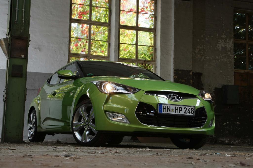 Hyundai Veloster Intro Edition - Besonders grün
