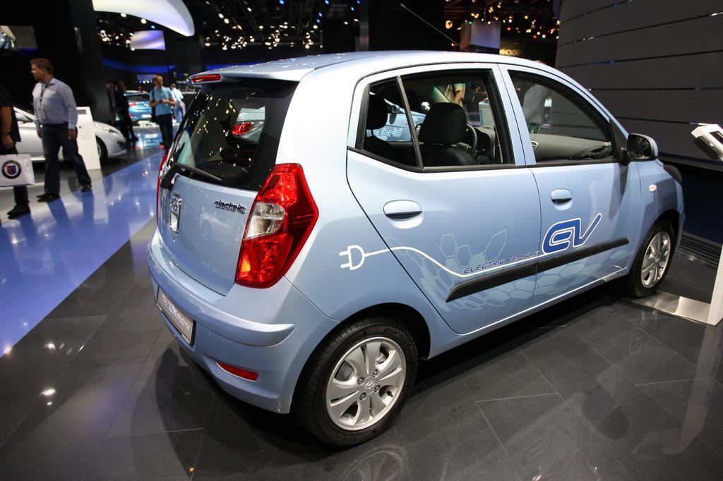Hyundai i10 Blue On.