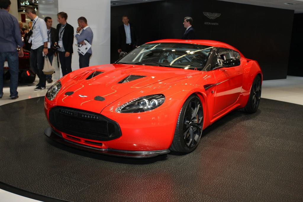 IAA 2011: Aston Martin V12 Zagato kostet 450 000 Euro