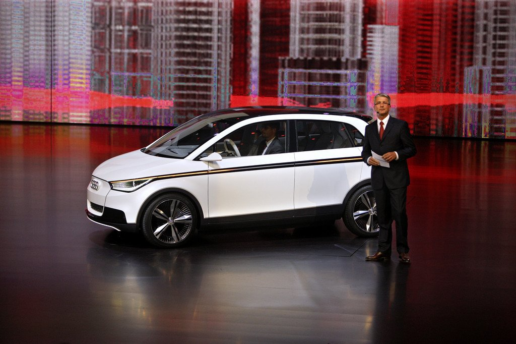 IAA 2011: Audi präsentiert Technikstudie A2 Concept