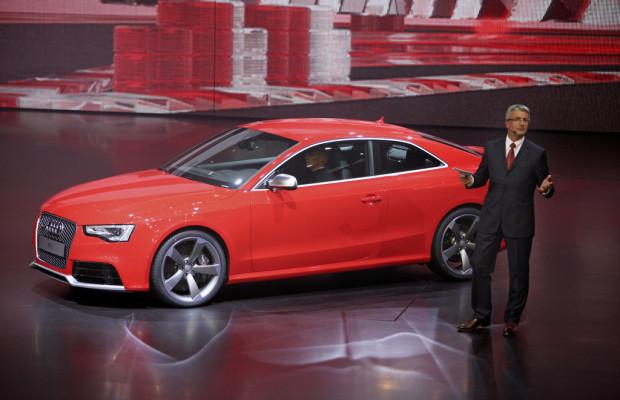 IAA 2011: Audi stellt RS 5 Coupé vor